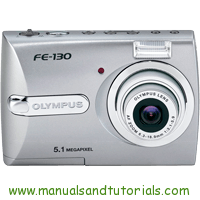 Olympus FE-130 Manual And User Guide PDF