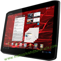 Motorola Xoom 2 Manual and user guide in PDF