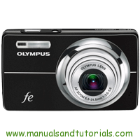 Olympus FE-5000 Manual And User Guide PDF