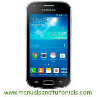 Samsung Galaxy Trend plus Manual and user guide PDF