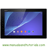Sony Xperia Z2 Tablet Manual And User Guide PDF