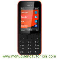 Nokia Asha 207 Manual and user guide in PDF
