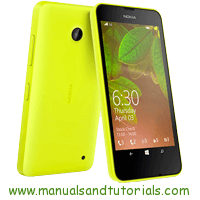 Nokia Lumia 630 Manual And User Guide PDF