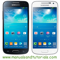 Samsung Galaxy S4 mini Manual And User Guide PDF