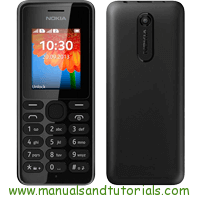 Nokia 108 Manual and user guide PDF