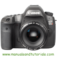 Canon EOS 5DS r Manual And User Guide PDF
