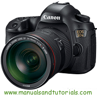Canon EOS 5DS Manual And User Guide PDF