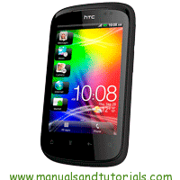 HTC Explorer A310E Manual and user guide in PDF
