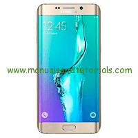 Samsung Galaxy S6 edge Manual and user guide PDF