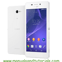 Sony Xperia M2 Aqua Manual and user guide in PDF