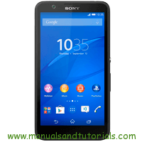 Sony Xperia E4 Manual And User Guide PDF