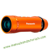 Panasonic HX A1M Manual And User Guide PDF