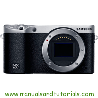Samsung NX500 Manual And User Guide PDF