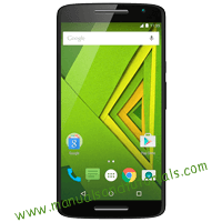 Motorola Moto X Play Manual And User Guide PDF