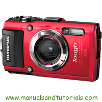 Olympus TG-3 Manual And User Guide PDF
