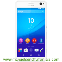 Sony Xperia C4 Manual And User Guide PDF
