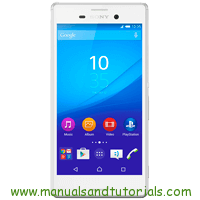 Sony Xperia M4 Aqua Manual And User Guide PDF