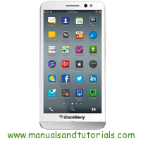 BlackBerry Z30 Manual And User Guide PDF