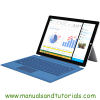Microsoft Surface PRO 3 Manual And User Guide PDF