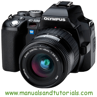 Olympus E 500 Manual And User Guide PDF