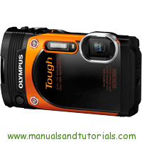 Olympus TG-860 Manual And User Guide PDF