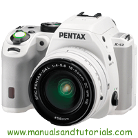 Ricoh PENTAX K S2 Manual And User Guide PDF