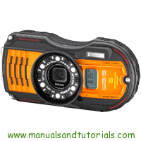 Ricoh Pentax WG 5 GPS Manual And User Guide PDF