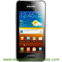 Samsung Galaxy S Advance Manual And User Guide PDF