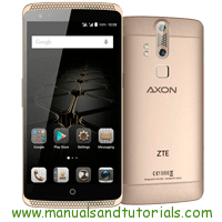 ZTE Axon elite Manual And User Guide PDF
