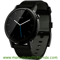 Motorola Moto 360 Manual And User Guide PDF