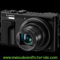 Panasonic Lumix TZ80 Manual And User Guide PDF