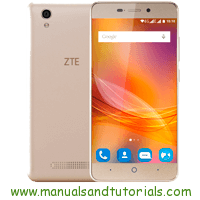 ZTE Blade A452 Manual And User Guide PDF