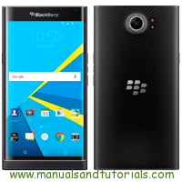 Blackberry PRIV Manual And User Guide PDF
