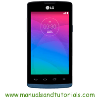 LG Joy Manual And User Guide PDF