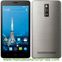 ZTE Blade V220 Manual And User Guide PDF