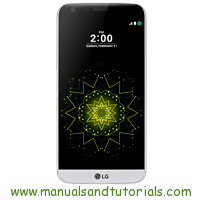 LG G5 Manual And User Guide PDF software LG marca LG