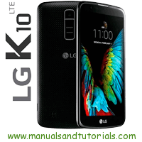 LG K10 Manual And User Guide PDF k10 specs
