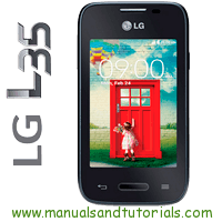 LG L35 Manual And User Guide PDF
