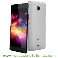 ZTE Blade V580 Manual And User Guide PDF