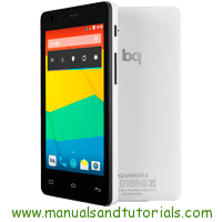 bq Aquaris E4.5 Manual And User Guide PDF smartphone ad new smartphone company bq store new mobile phones