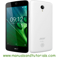 how to get service menu on acer liquid