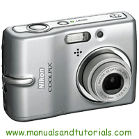 Nikon Coolpix L10 Manual And User Guide PDF