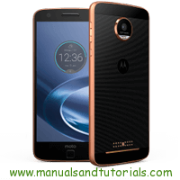Motorola Moto Z Force Droid Manual And User Guide PDF