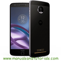 Motorola Moto Z Manual And User Guide PDF