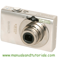 Canon Digital IXUS 85 IS Manual And User Guide PDF