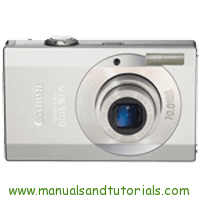 Canon Digital IXUS 90 IS Manual And User Guide PDF