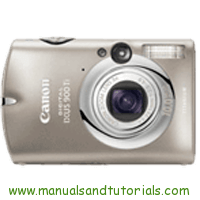 Canon Digital IXUS 900 Ti Manual And User Guide PDF