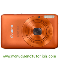 Canon IXUS 130 Manual And User Guide PDF