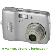 Nikon Coolpix L3 Manual And User Guide PDF