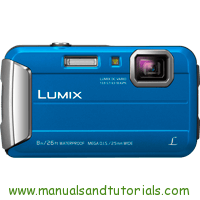Panasonic Lumix FT30 Manual And User Guide PDF